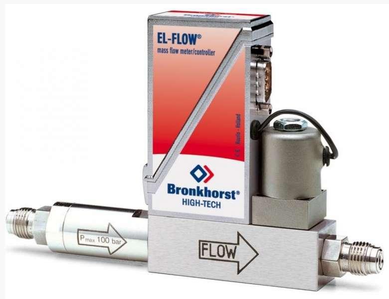 Hmotnostný regulátor prietoku s filtrom