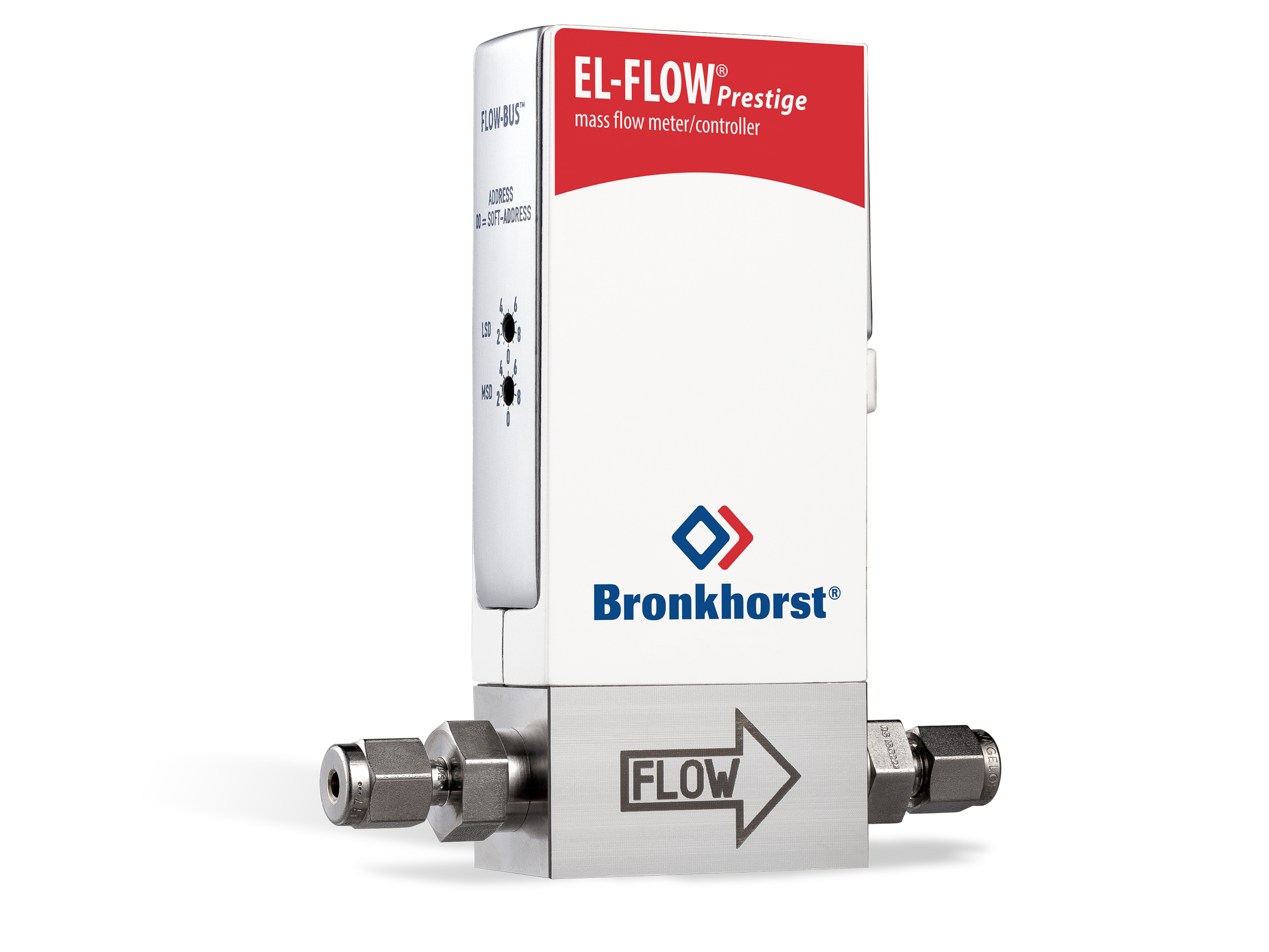 Tremický hmotnostný prietokomer EL-FLOW Prestige