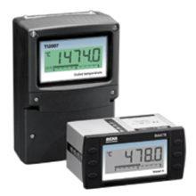Zobrazovače s teplotným prevodníkom