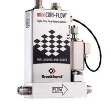 mini CORI-FLOW s regulačním ventilem