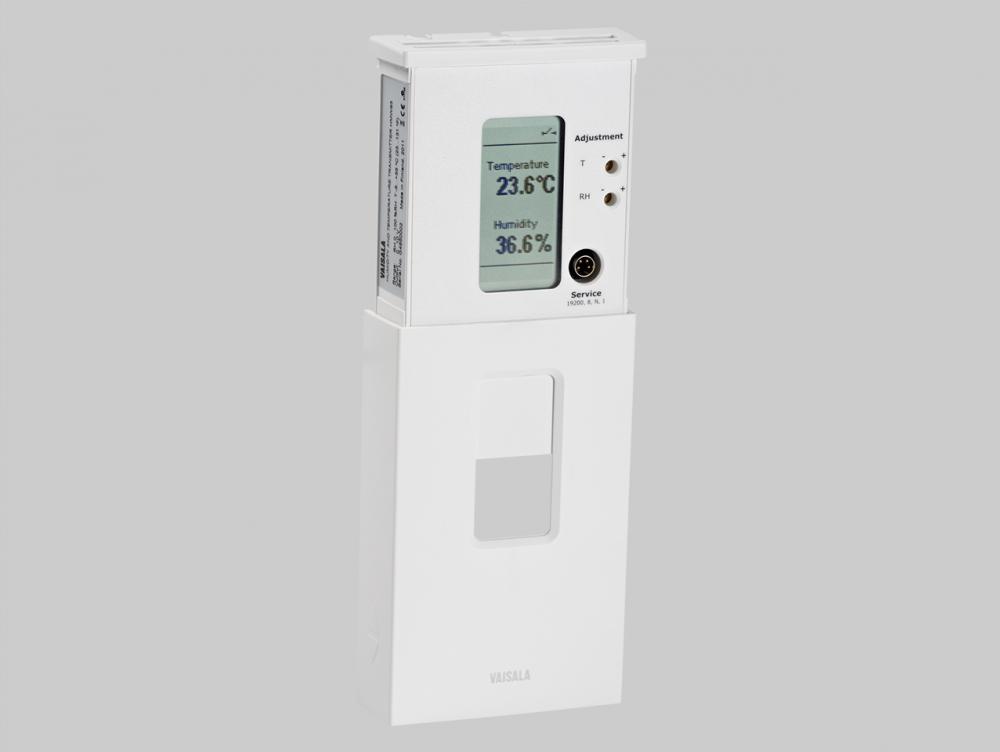 Nástěnné převodníky pro teplotu a vlhkost VAISALA HMW90- posuvný kryt