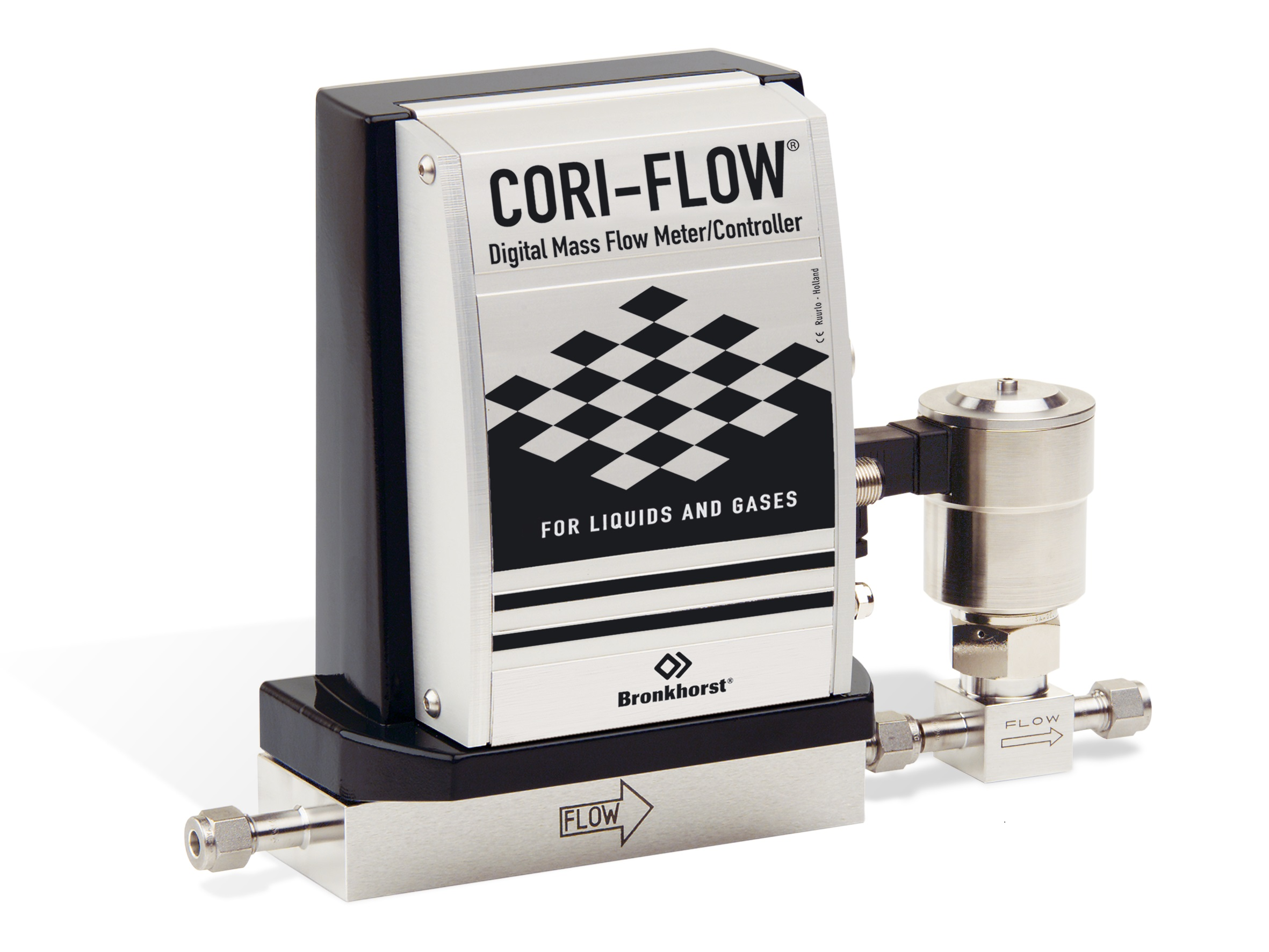 CORI-FLOW s priamo ovládaným regulačným ventilom