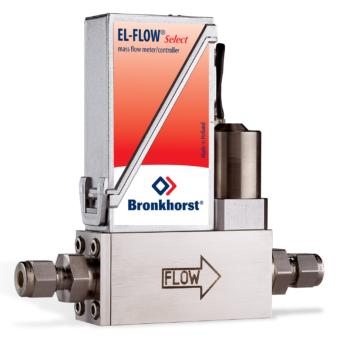 Termický hmotnostný prietokomer Bronkhorst EL-Flow