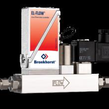EL-FLOW Select s integrovaným regulačním i uzavíracím ventilem
