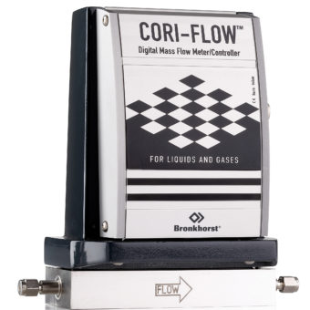 Bronkhorst Cori-Flow prietokomer pre plyny a kvapaliny