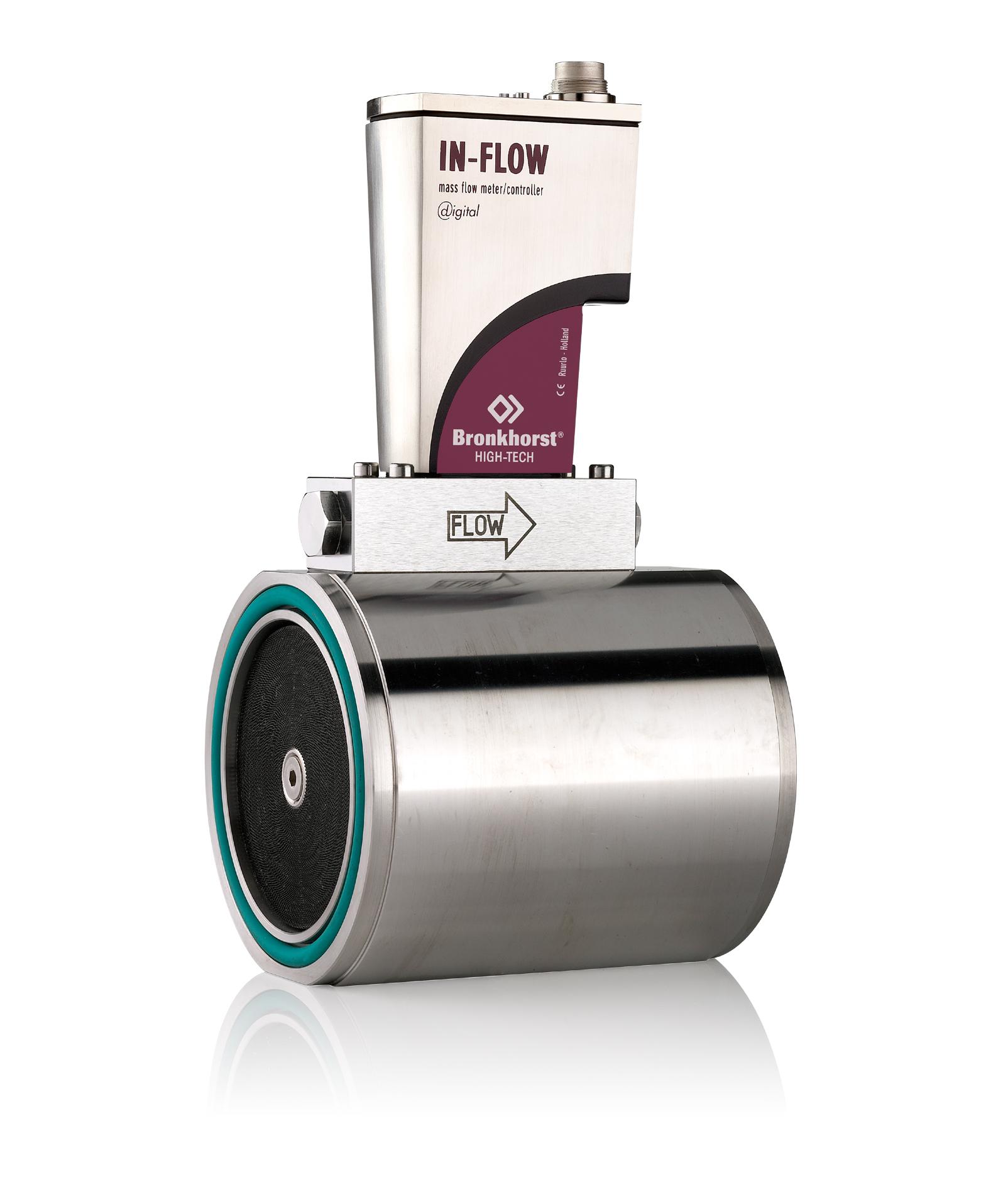 Prietokomer IN-Flow v prevedení medzi príruby