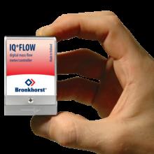 hmotnostní průtokoměr v miniaturním provedení IQ+ Flow