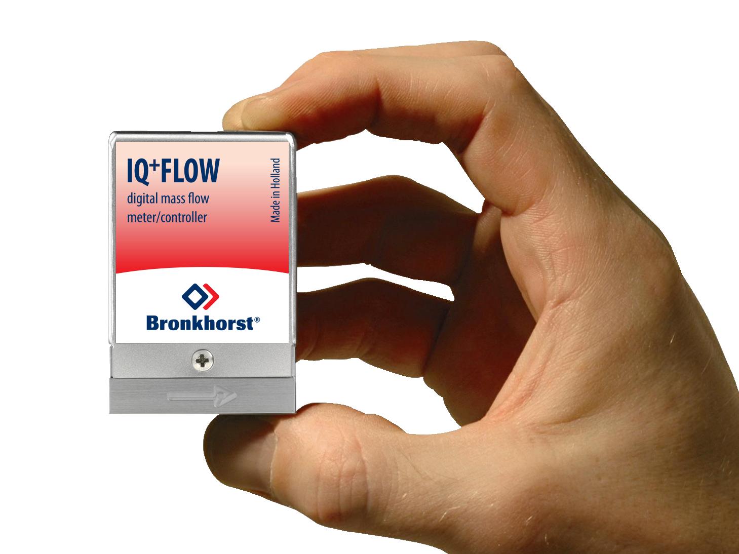 Hmotnostný prietokomer alebo regulátor prietoku IQ+ Flow