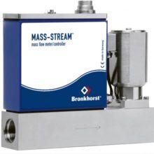 MASS-STREAM MFC s integrovaným regulačním ventilem