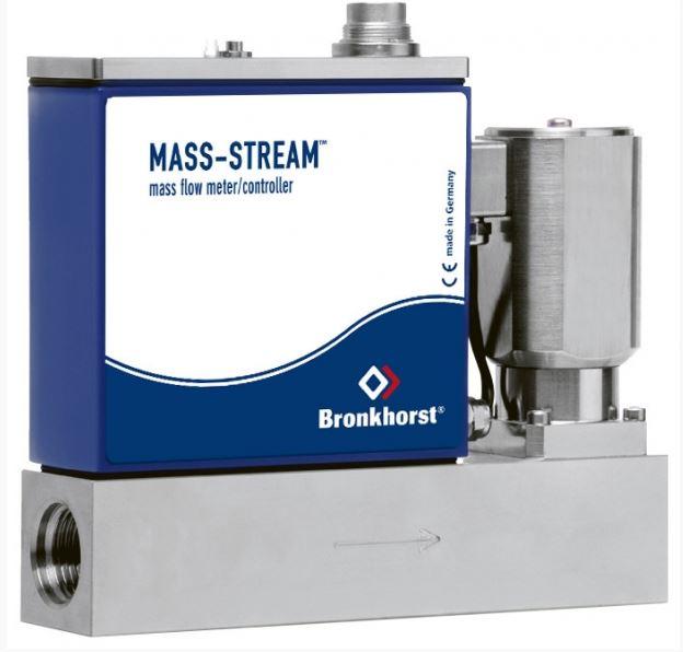 MASS-STREAM MFC s integrovaným regulačným ventilom