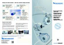 WDGI - Nový standard pro inkrementální enkodéry - Inkrementální snímače WDG a WDGI sválcovou hřídelí