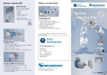 Systémy a enkodéry WDG - Inkrementální snímače WDG, WDGI a WDGP sdutou hřídelí