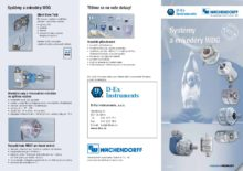 Systémy a enkodéry WDG - Rotační motor feedback systémy WDGF