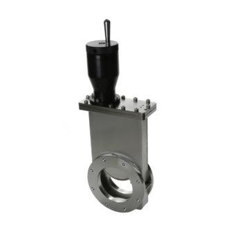 Manuální vakuový šoupátkový ventil
