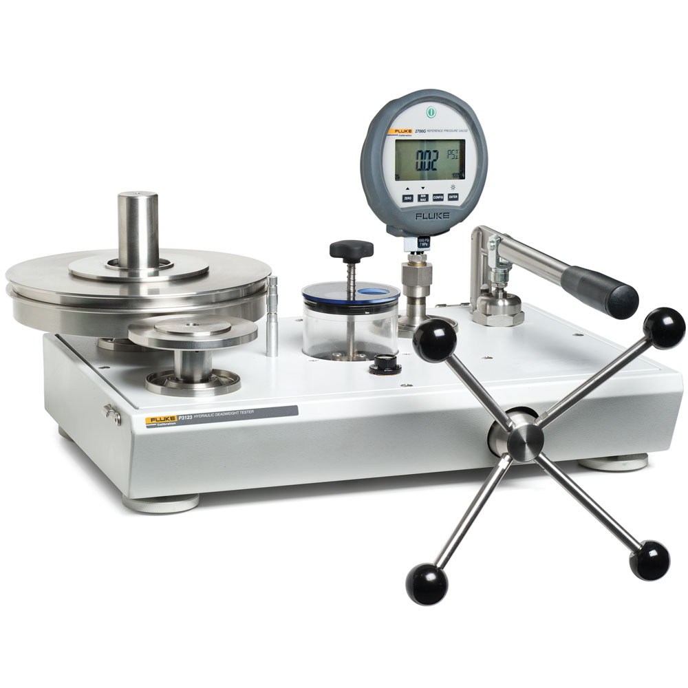 Hydraulický piestový tlakomer P3200