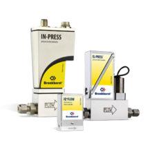 Elektronické tlakomery a regulátory tlaku