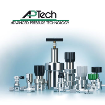 Ultračisté ventily a regulátory tlaku AP-Tech