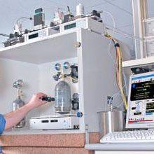 Primárny etalón prietoku plynu GFS