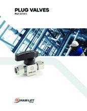 PLV Plug Valves Catalog - Zásuvný kohout PLV