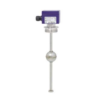 Plovákový magnetický snímač hladiny s odporovým řetězcem KSR Kuebler