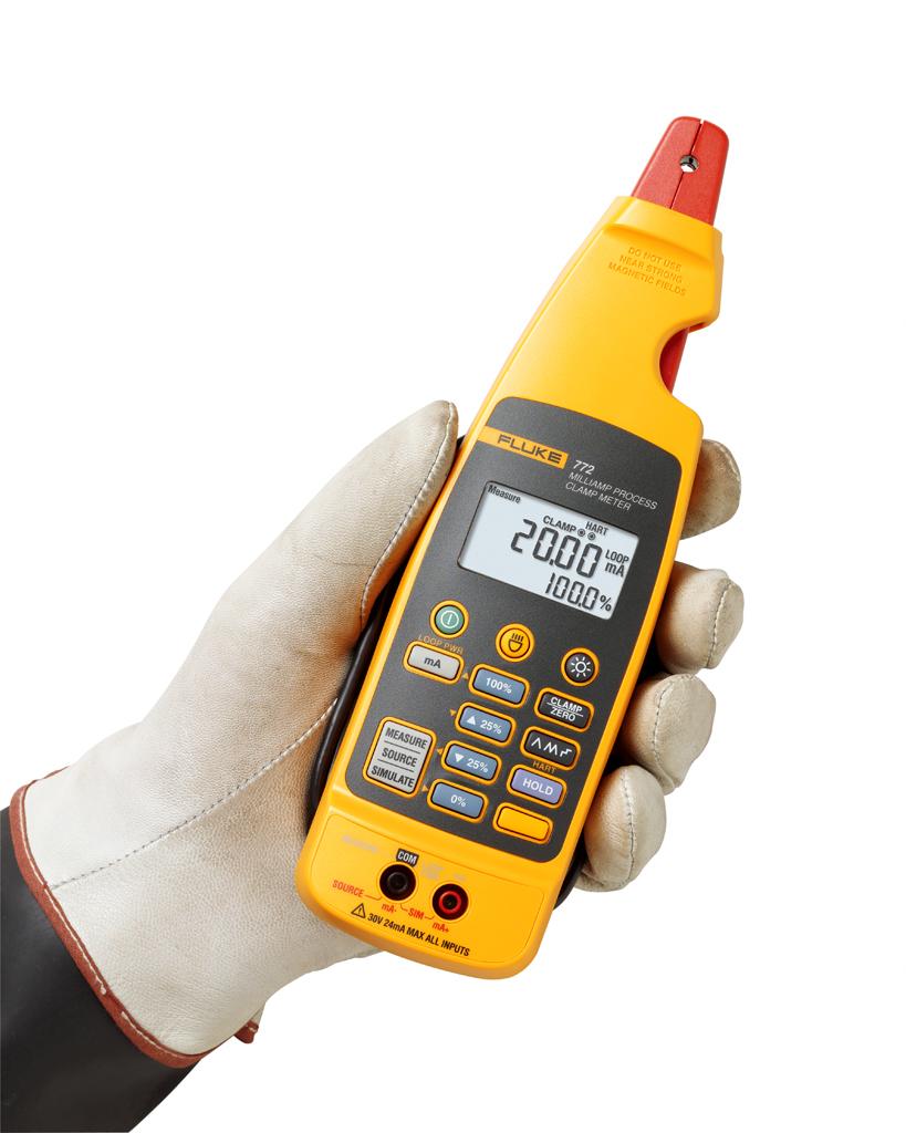 Kliešťový ampérmeter Fluke 772