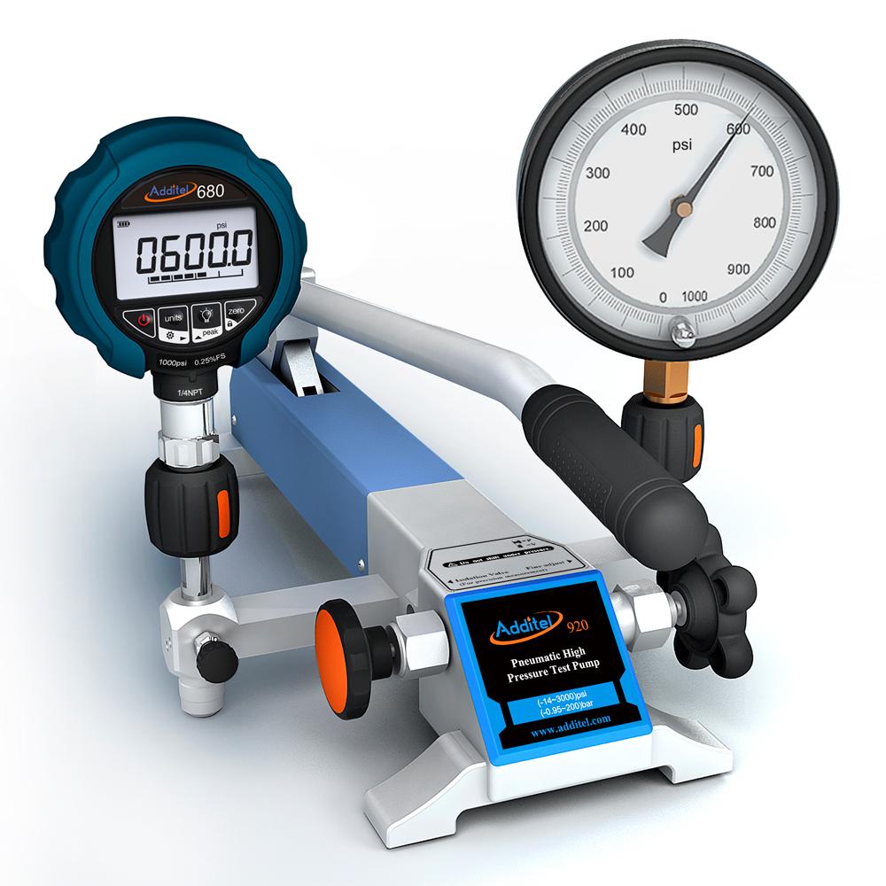 Pneumatická pumpa ADT920 s tlakomerom ADT680