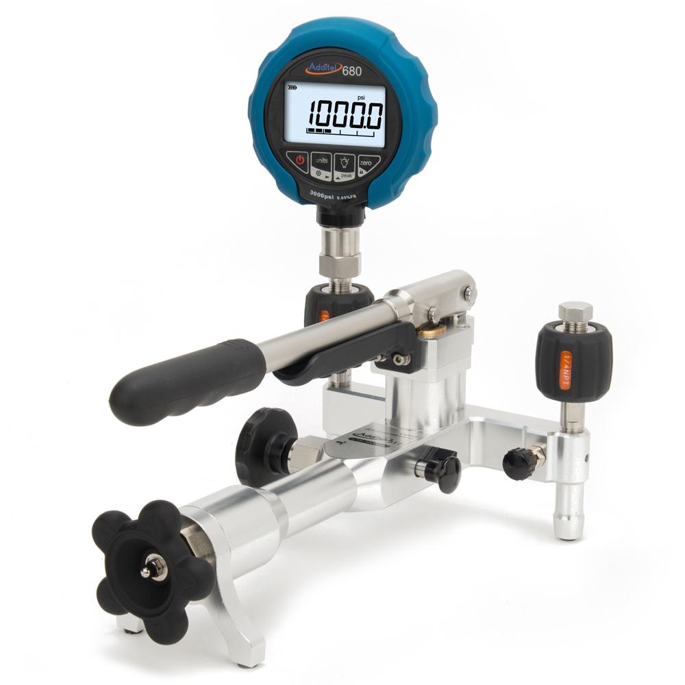 Pneumatická pumpa ADT917 s tlakomerom ADT680