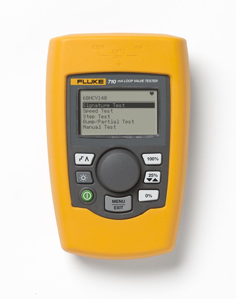 Fluke 710 tester HART ventilov