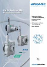 Lankové systém SZG - Lankové systémy měření délek SZG