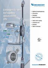Řešení pro výtahy - Řemenové systémy WDGM