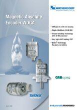 Absolutní enkodéry WDGA s protokolem CANopen - Absolutní snímače WDGA (PROFINET-IO, EtherCAT a Universal-IE)