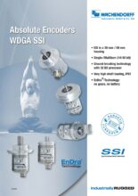 Absolutní enkodéry WDGA s protokolem SSI - Absolutní snímače WDGA (SSI, RS485, SAE J1939 a PROFIBUS)