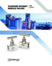 H-99 Catalog - Jehlový ventil H-99