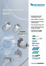 Absolutní enkodéry WDGA s EnDra® technologií - Rotační motor feedback systémy WDGF