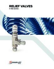 H-900 Catalog - Pojistný ventil H-900