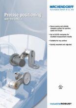 Ultrakompaktní a robustní systém pro měření délky LMSCA - Systémy měření délky LMS