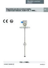 Manuál - Odporový snímač hladiny FLR (Ex i) - Odporový snímač hladiny FLR-F (do potravinářství)