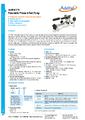 Datasheet pumpy ADT918 - Pneumatické pumpy Additel série ADT900