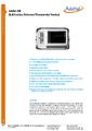 Datasheet 286 - Referenčný teplotný skener / zobrazovač Additel 286
