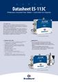 Katalógový list ES-113C (verzia bez displeja) - Bronkhorst ES-FLOW