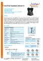 Datasheet súpravy pre kalibráciu krátkych snímačov - Prevádzkové suché teplotné piecky Additel série 875