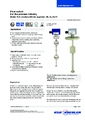 Katalogový list - Vertikální hladinový spínač FLS - Vertikální hladinový spínač FLS