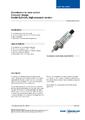 Katalogový list - Optický hladinový spínač, model OLS-C20 - Optický hladinový spínač OLS