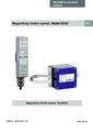 Manuál - Limitní spínač BGU - Stavoznak s horní montáží