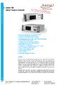 Datasheet kalibrátor Additel 780 - Regulátor tlaku Additel 780 / 780S