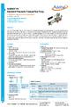 Datasheet pumpy ADT914A - Pneumatické pumpy Additel série ADT900