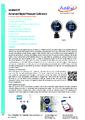 Additel 673 datasheet - Digitálny kalibrátor tlaku Additel 673