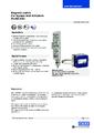 Katalogový list - Limitní spínač BGU - Stavoznak s horní montáží