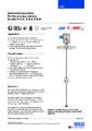 Katalogový list - Odporový snímač hladiny FLR - Odporový snímač hladiny