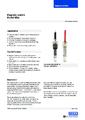 Katalogový list - Magnetický spínač MSA - Magnetický spínač
